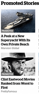 bad clickbait ads on nzherald